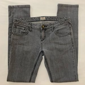 Free People Gray Jeans